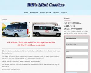 Bills Mini Coaches